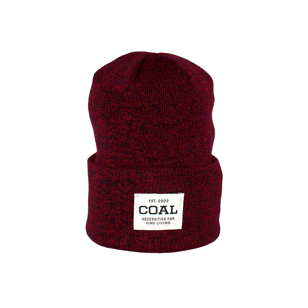 Caol The Uniform Fold Up Beanie Americana Maroon Rød