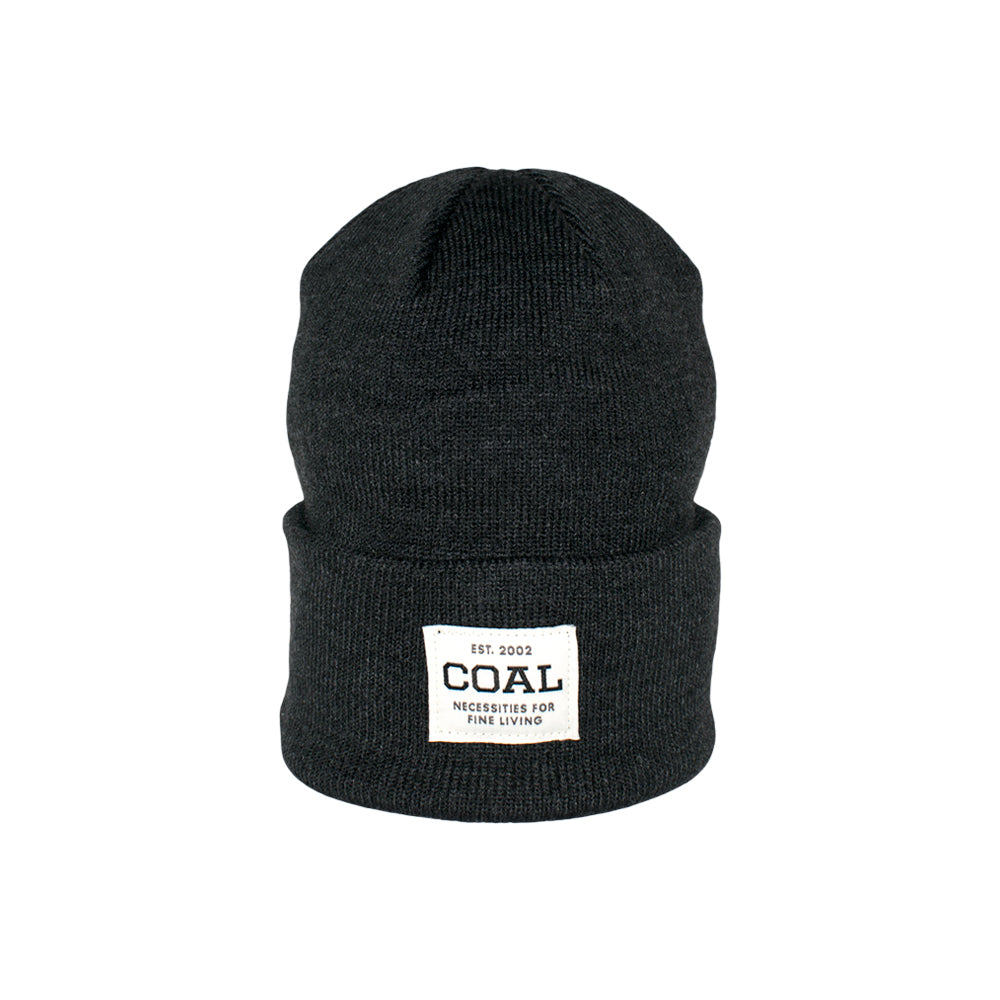 Caol The Uniform Fold Up Beanie Charcoal Grå