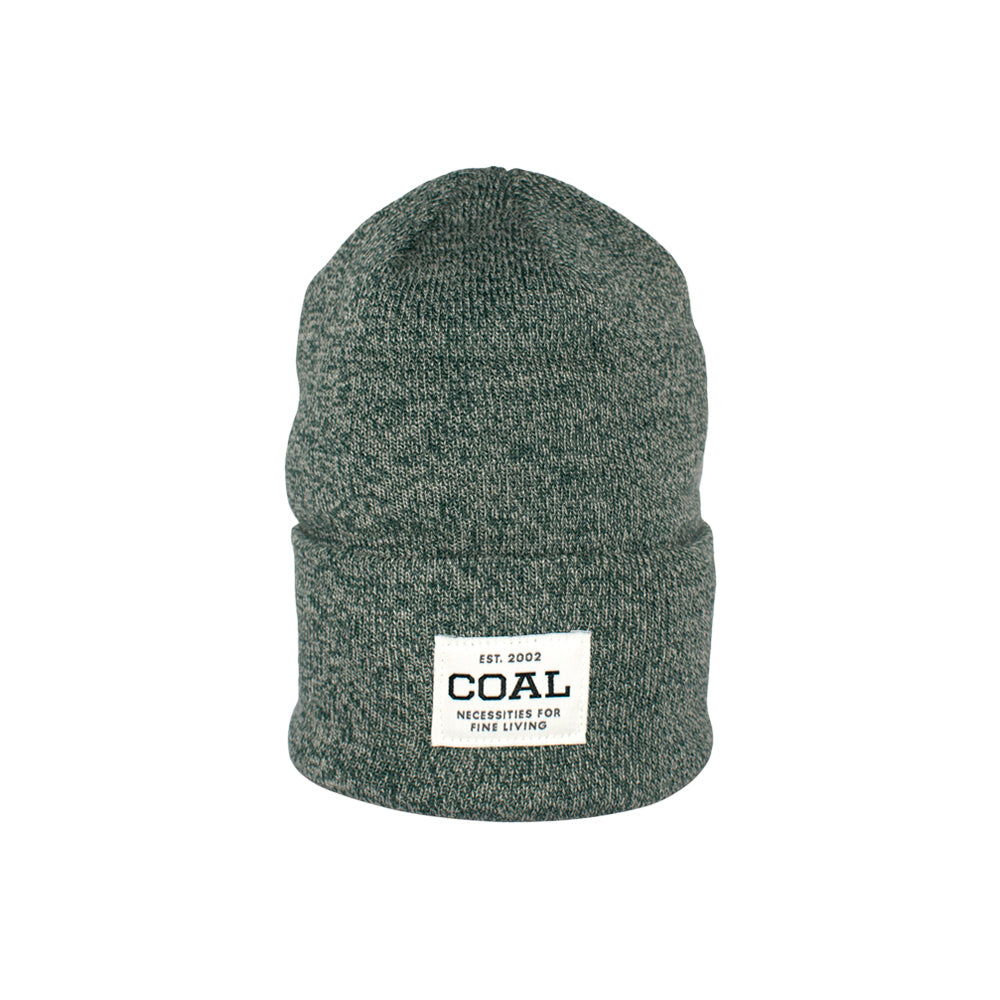 Caol The Uniform Fold Up Beanie Hunter Green Marl Grøn