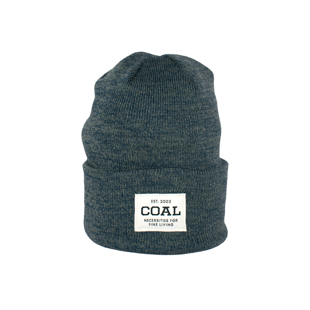 Caol The Uniform Fold Up Beanie Blue Marl Blå