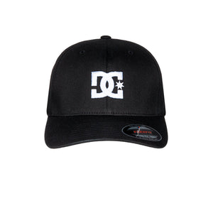 DC Cap Star 2 Flexfit Black Sort