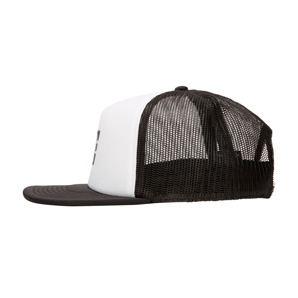 DC Gas Station Trucker Snapback White Black Hvid Sort ADYHA04061-XWWK