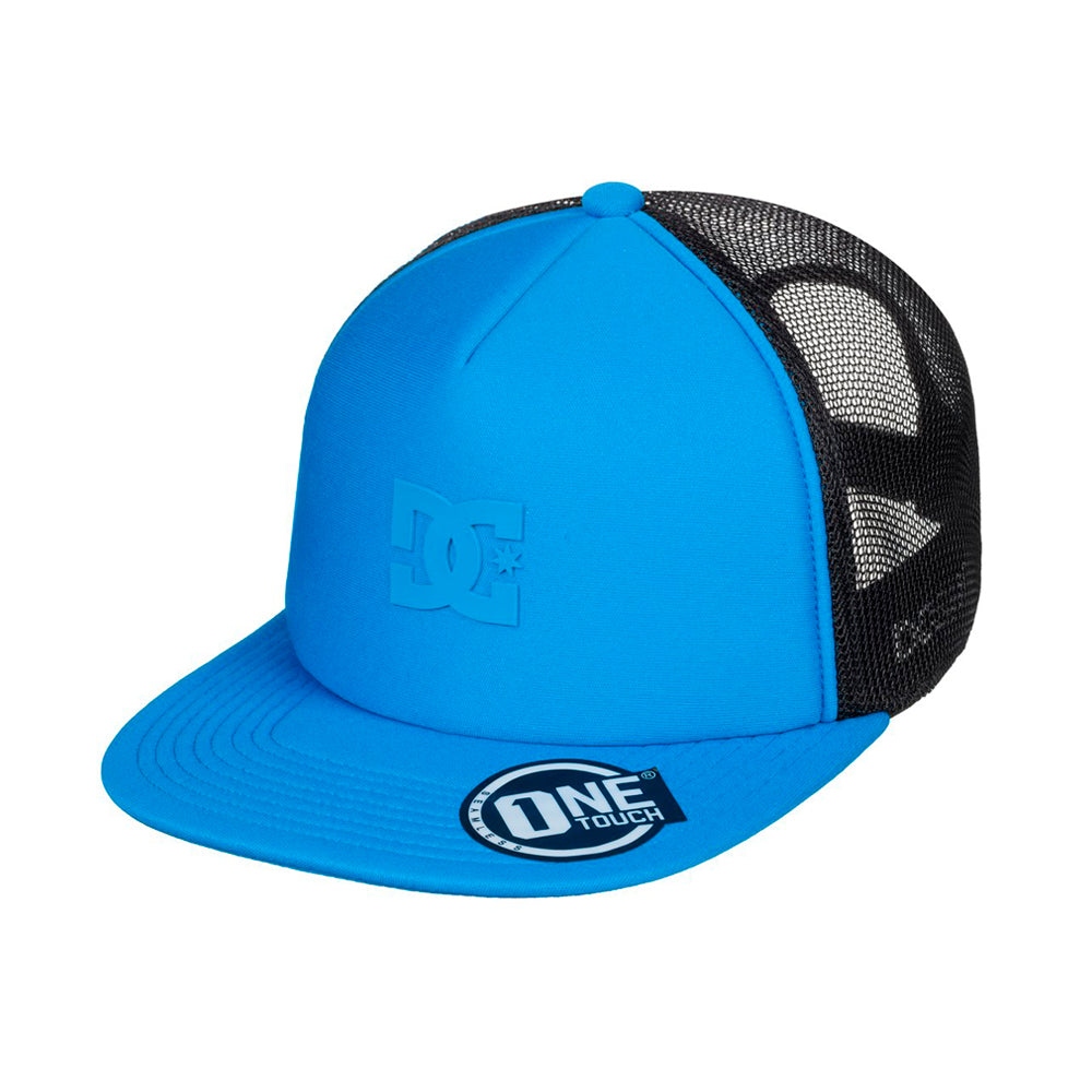 DC Greet Up Trucker Snapback Brilliant Blue Black Blå Sort