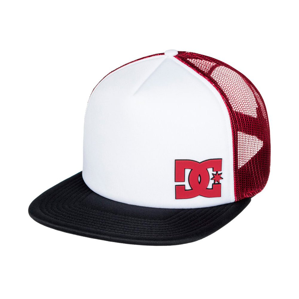 DC Madglads Trucker Snapback Black Snow White Red Sort Hvid Rød