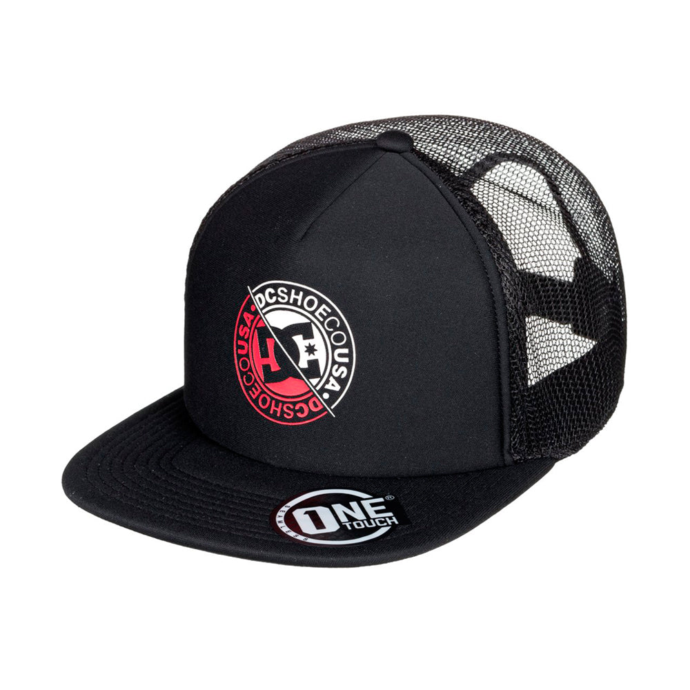 DC Meet Up Trucker Snapback Black Sort