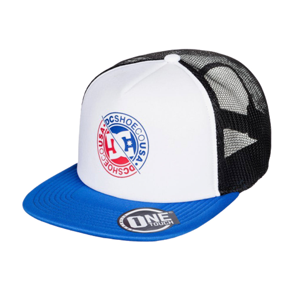 DC Meet Up Trucker Snapback White Hvid