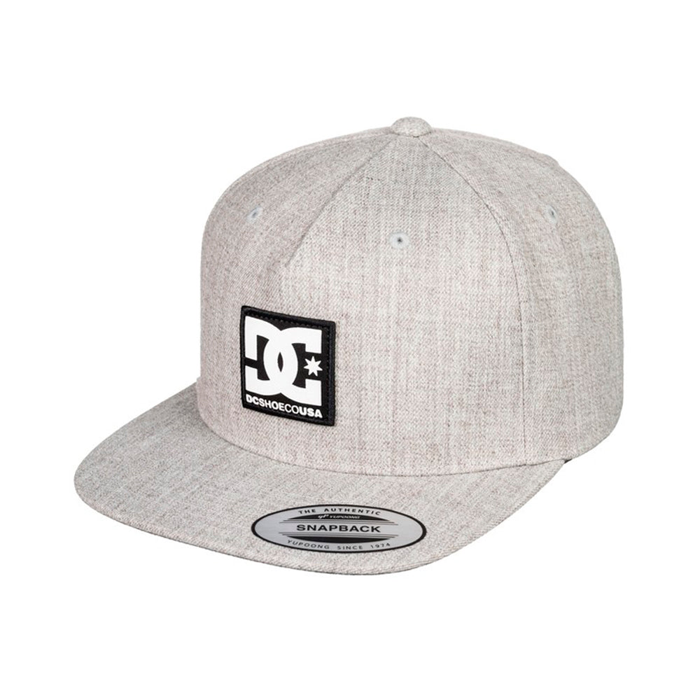 DC Snapdripp Snapback  Heather Grey Grå