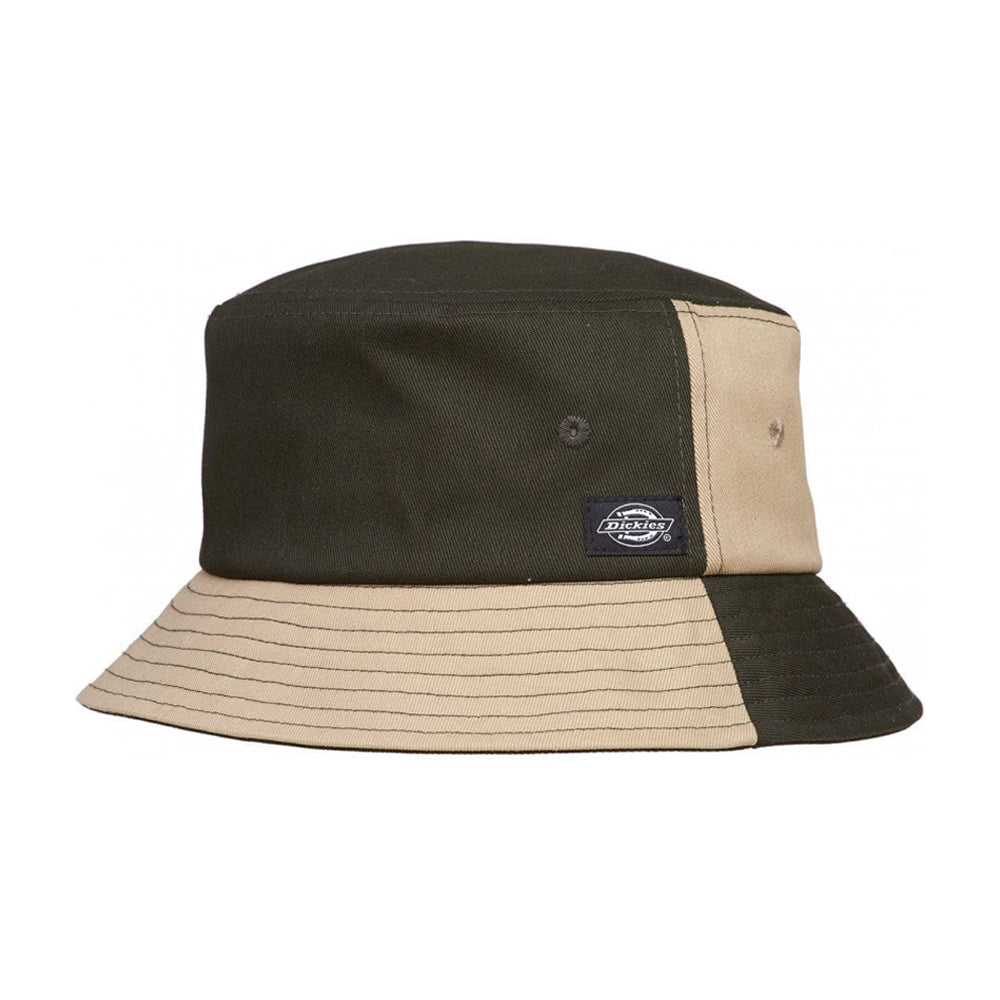 Dickies Addison Bucket Hat Olive Green Natural Stone Grøn Beige
