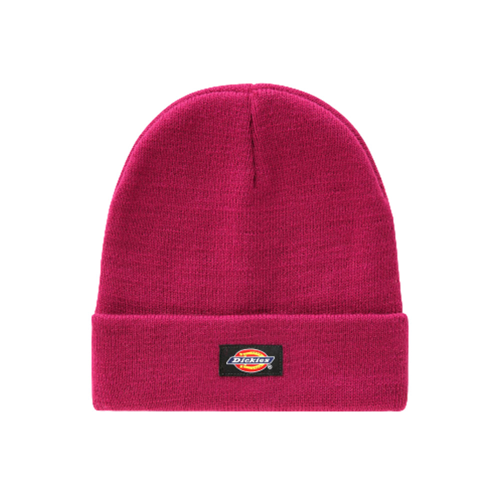 Dickies Gibsland Beanie Pink Berry Lilla Rød