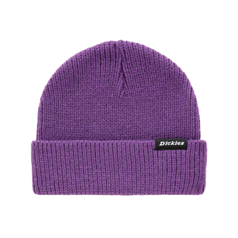 Dickies Woodworth Beanie Deep Purple Lilla