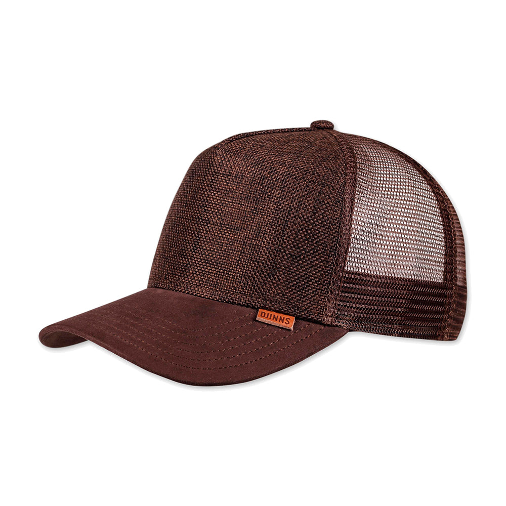 Djinns HFT Suelin Trucker Snapback Dark Brown Brun