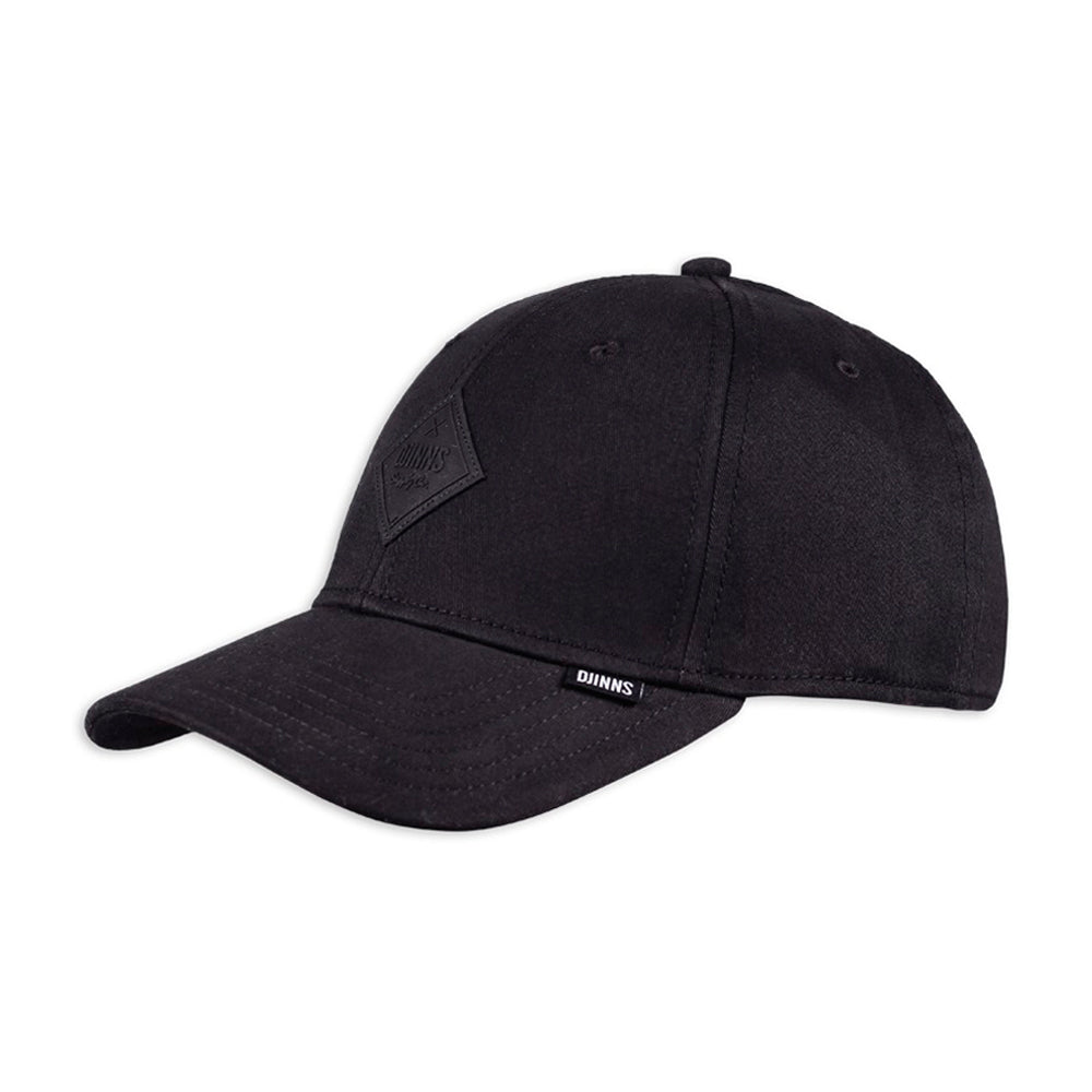 Djinns Truefit Cap Flex Basicbeauty Adjustable Black Sort
