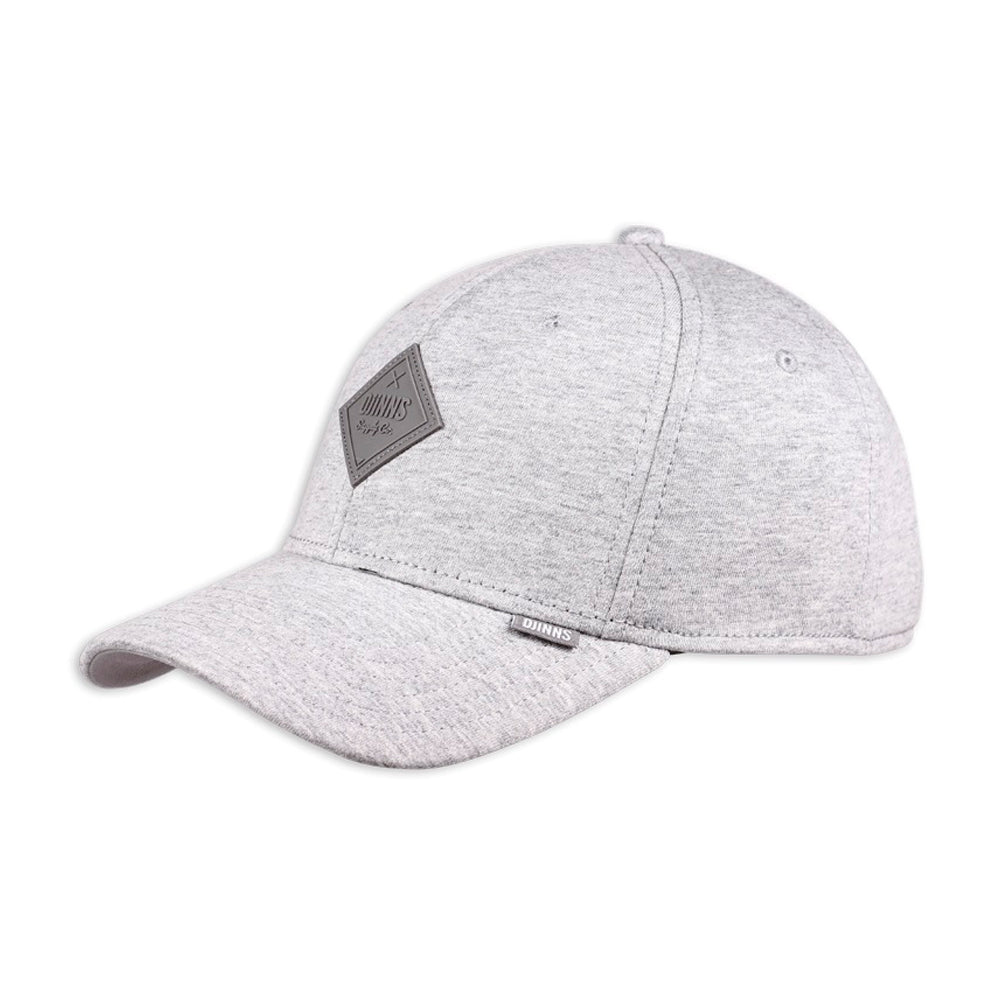 Djinns Truefit Cap Flex Basicbeauty Adjustable Heather Grey Grå