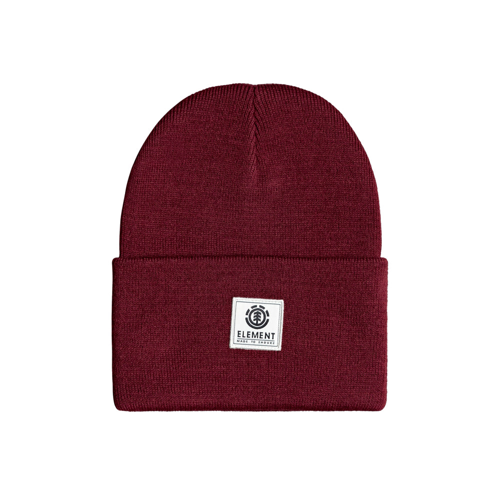 Element Dusk Fold Up Beanie Vintage Red Rød U5BNB8ELF0