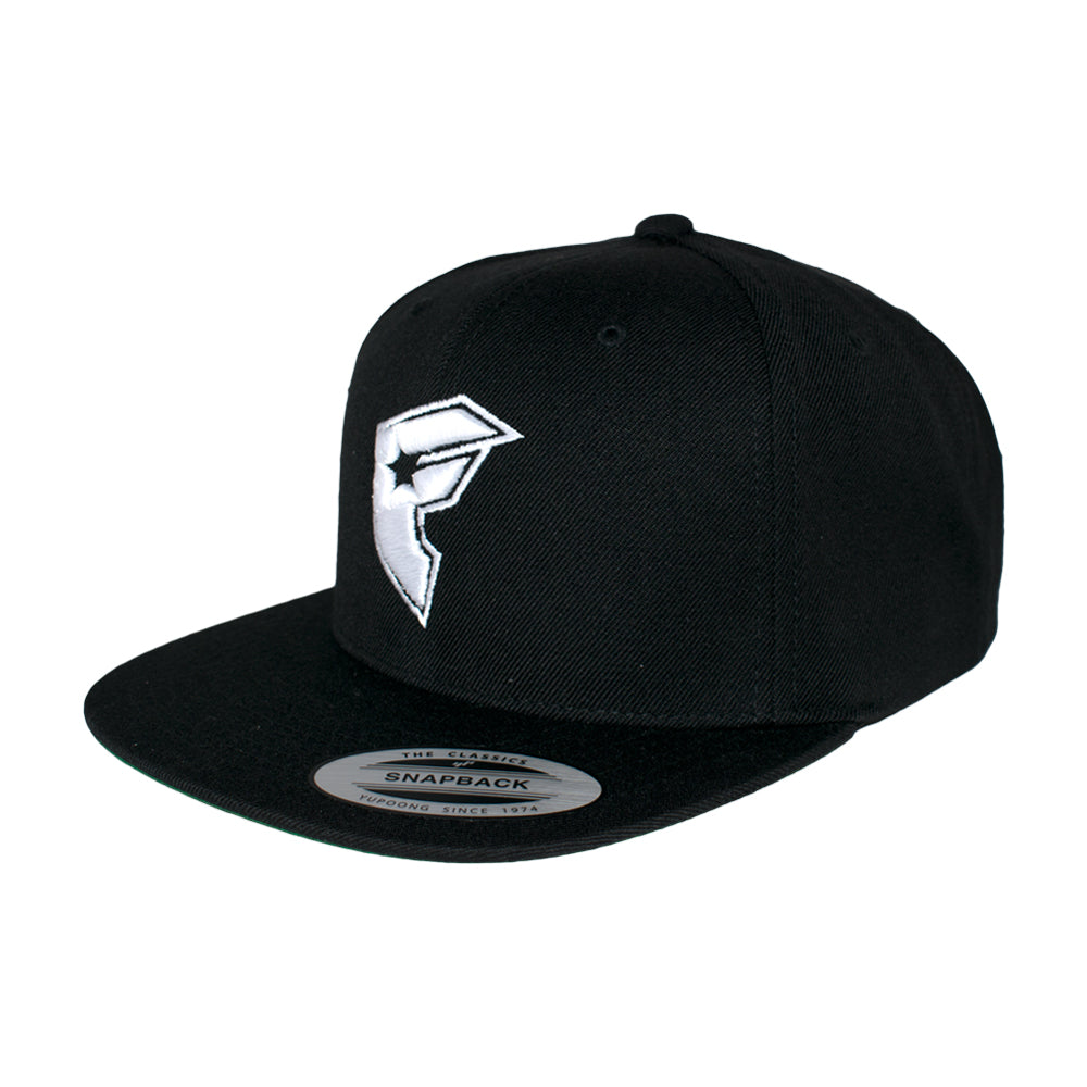 Famous Stars and Straps F Logo Snapback Black Sort