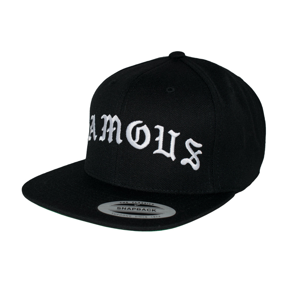 Famous Stars and Straps Old Snapback Black Sort