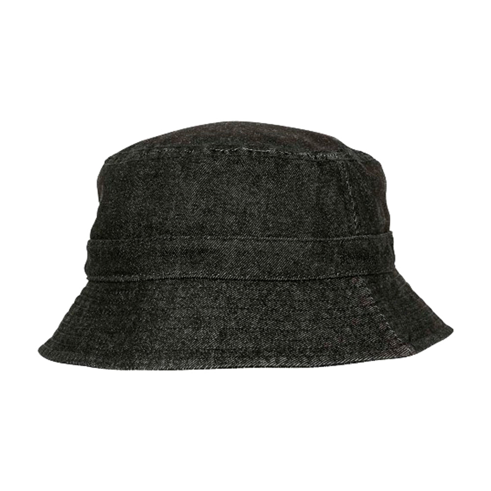 Flexfit Bucket Hat 5003 Black Denim Sort