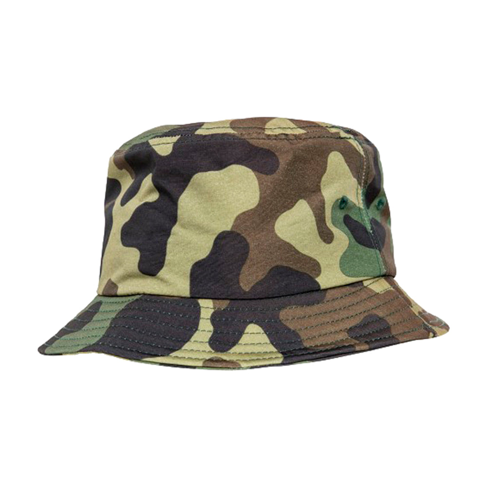 Flexfit Bucket Hat 5003 Green Camo Grøn Camo