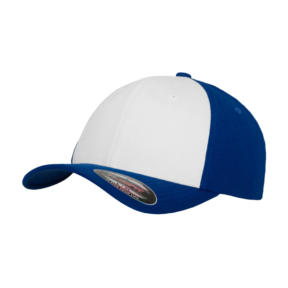 Flexfit Performance Flexfit Royal Blue White Blå Hvid