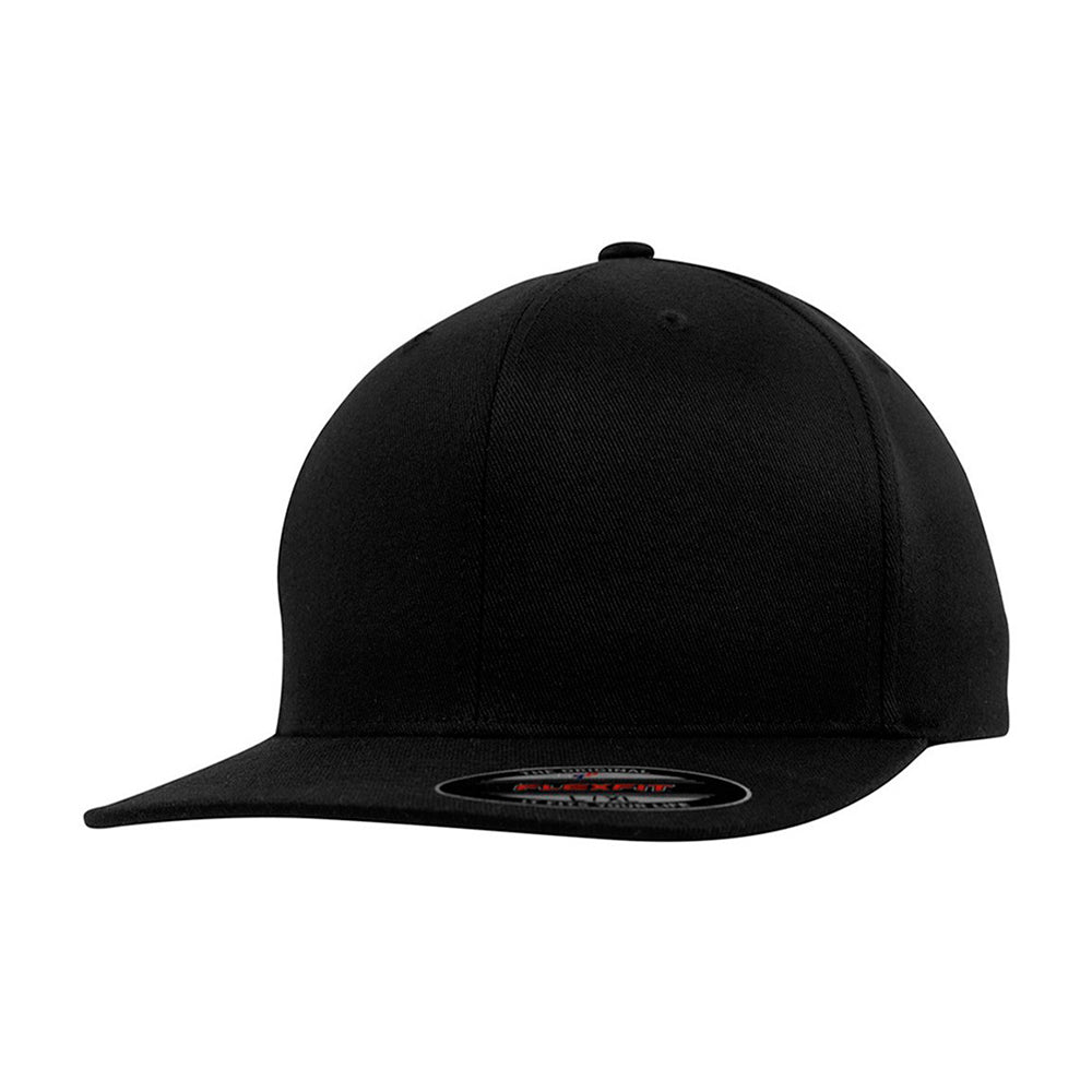 Flexfit Baseball Flat Visor Flexfit Black Sort