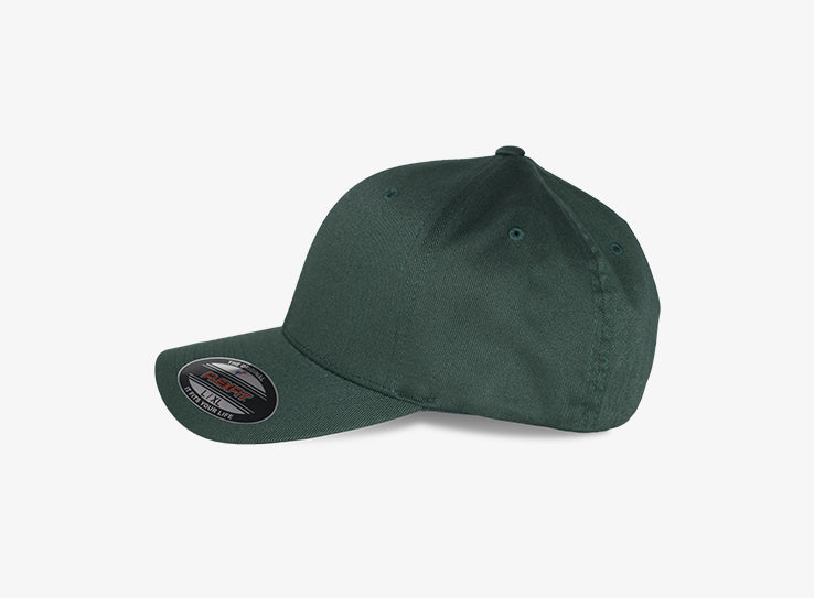 Flexfit Baseball Original Flexfit Spruce Green Grøn