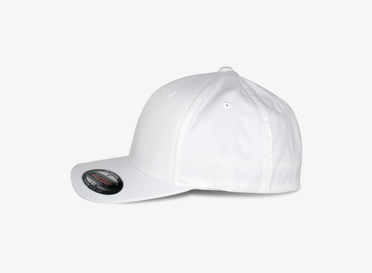 Flexfit Baseball Original Flexfit 6277 White Hvid