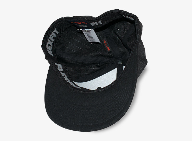 Flexfit Cap Baseball Pinstripe Black Flexfit