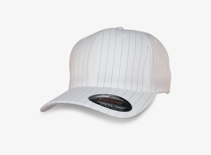 Flexfit Baseball Pinstripe White Flexfit