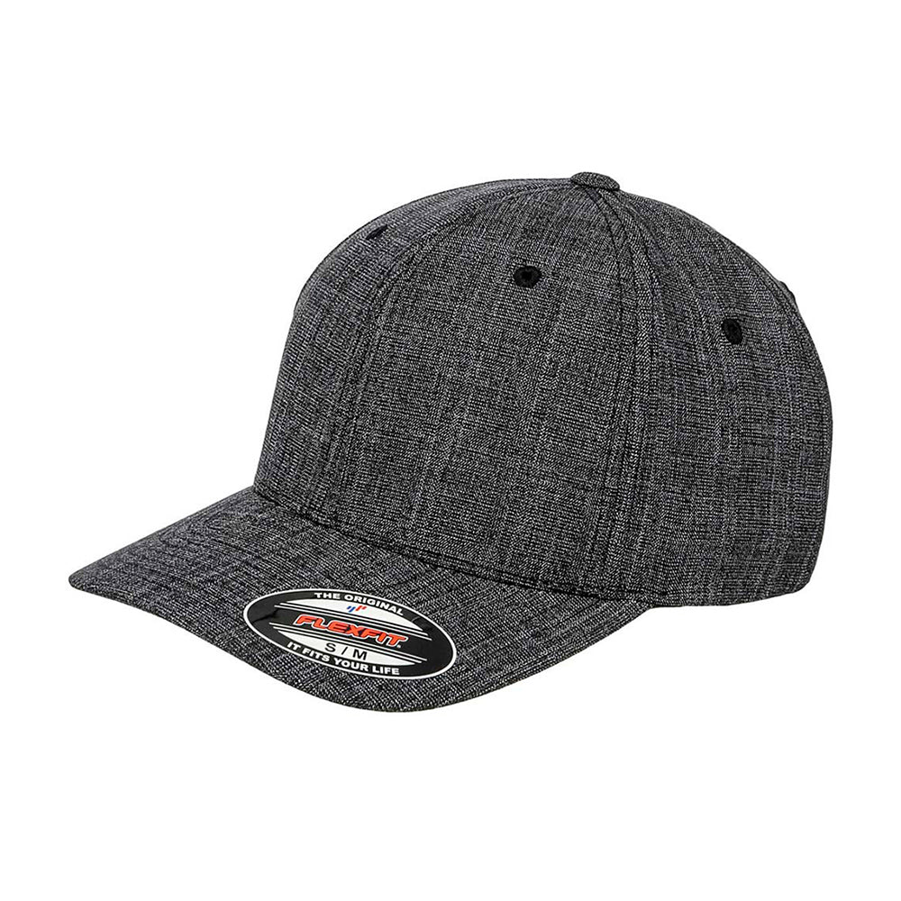 Flexfit Baseball Special Flexfit 6277SP Black Heather Grey Sort Grå