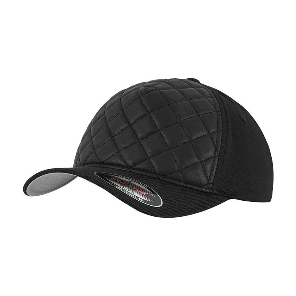 Flexfit Baseball Special Flexfit Black Quilted Sort