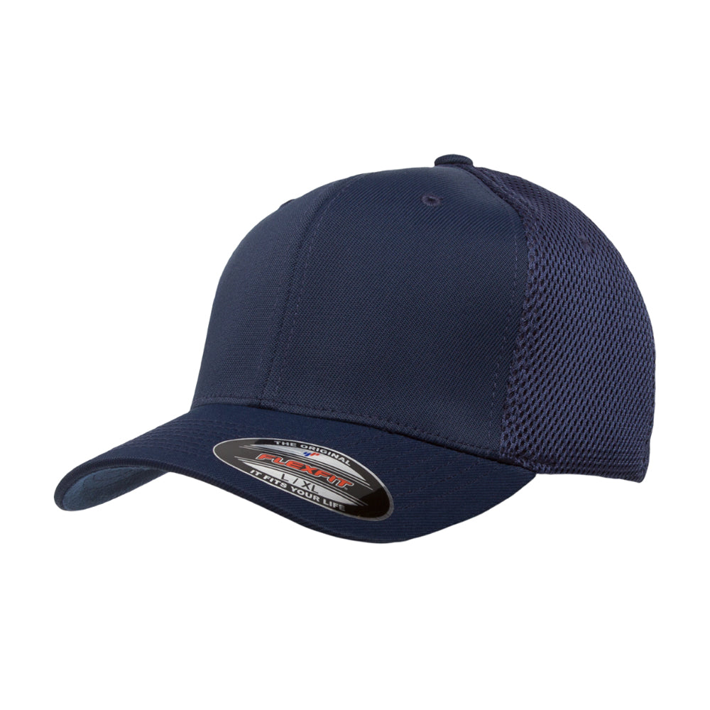 Flexfit Baseball Tactel Mesh Flexfit 6533 Navy Blå