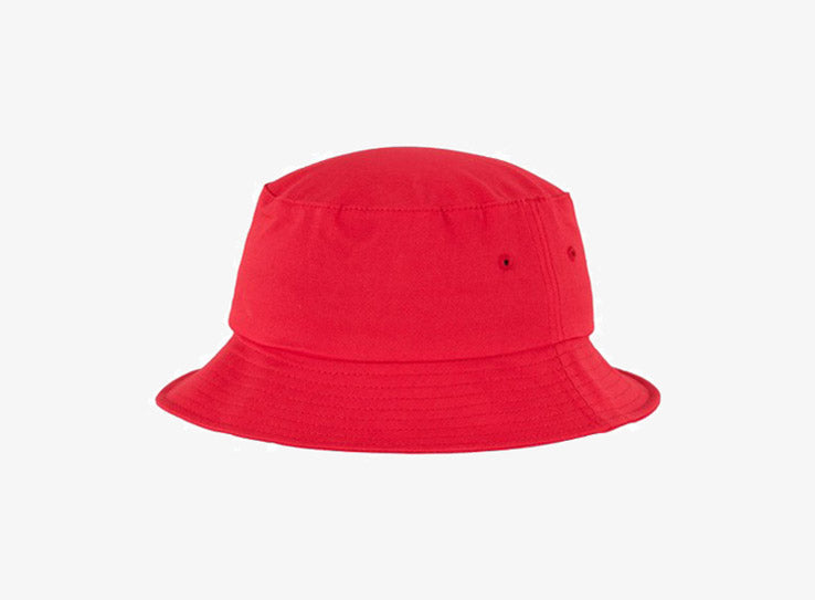 Flexfit Bucket Hat 5003 Red Rød