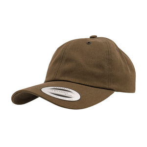 Flexfit Yupoong Dad Cap Justerbar 6245CM Olive Grøn