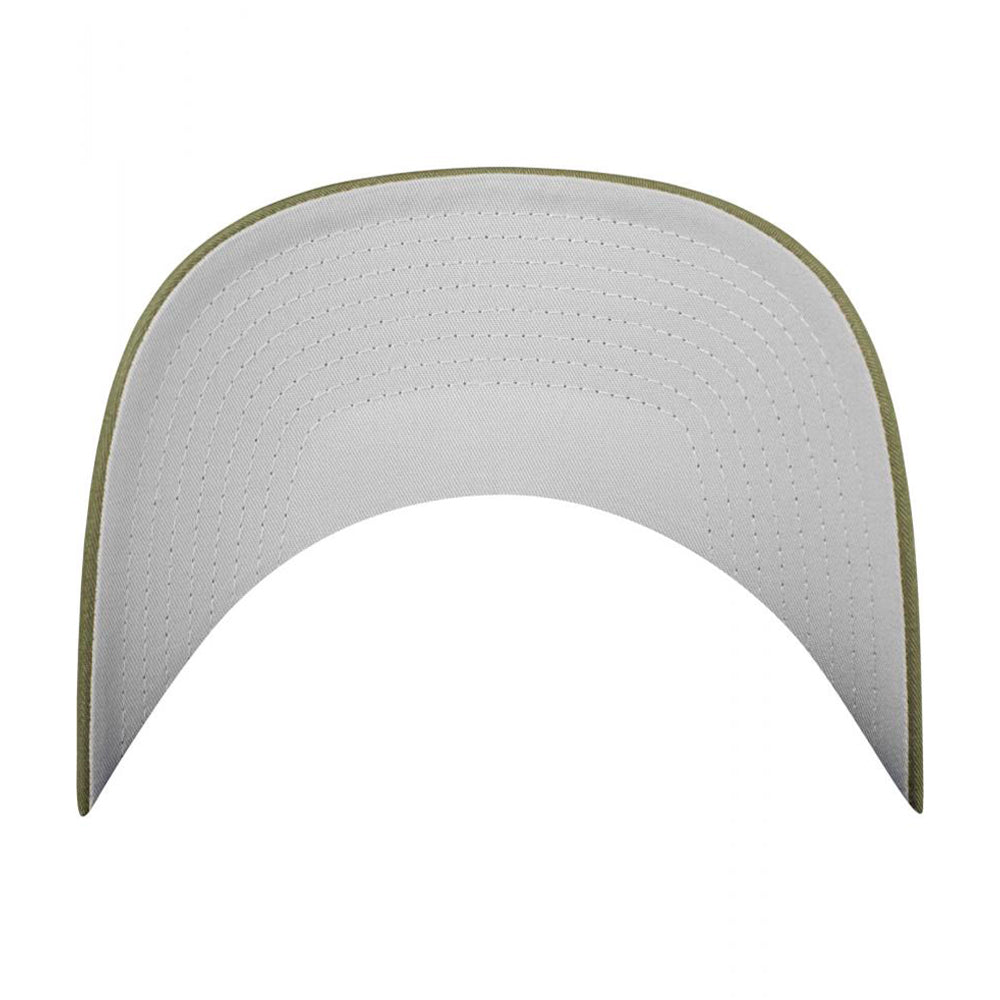 Flexfit Mesh Colored Front Flexfit 6511CF Buck White Grøn Hvid