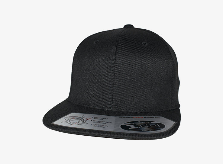 Flexfit Yupoong Premium One Ten Snapback 110F Black Sort