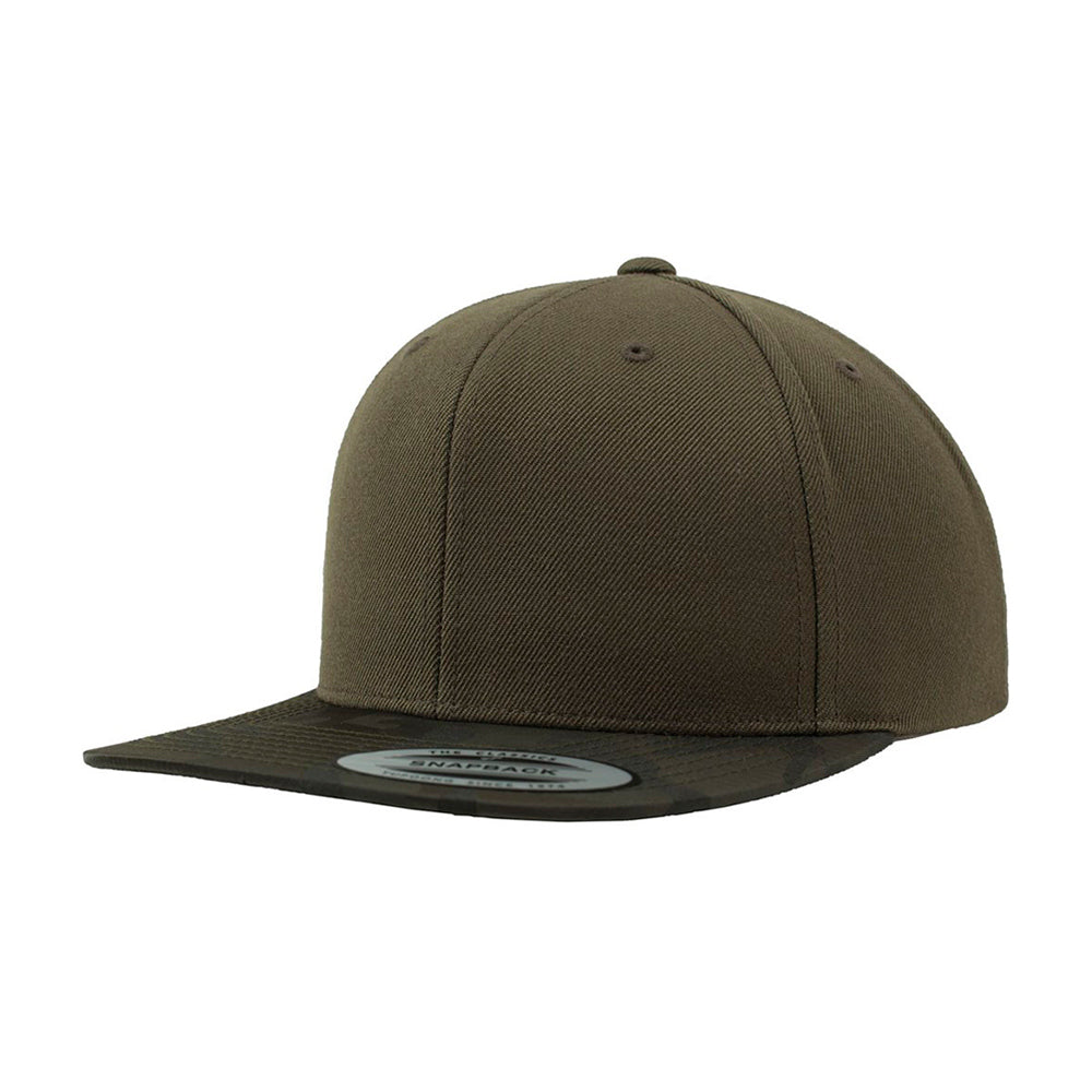Flexfit Yupoong Special Snapback Olive Camo Grøn
