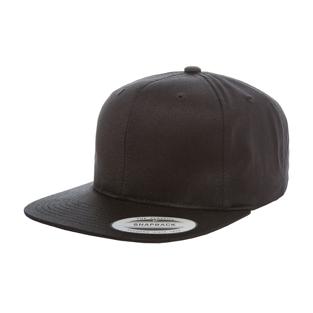 Flexfit Yupoong 2-6 Years Snapback Black Sort