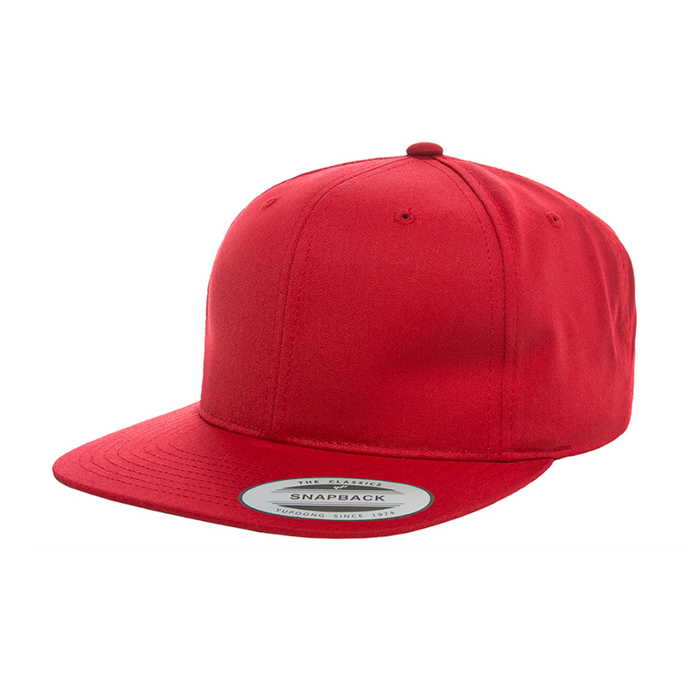 Flexfit Yupoong 2-6 Years Snapback 6308 Red Rød