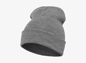Flexfit - Fold Up Beanie - Heather Grey
