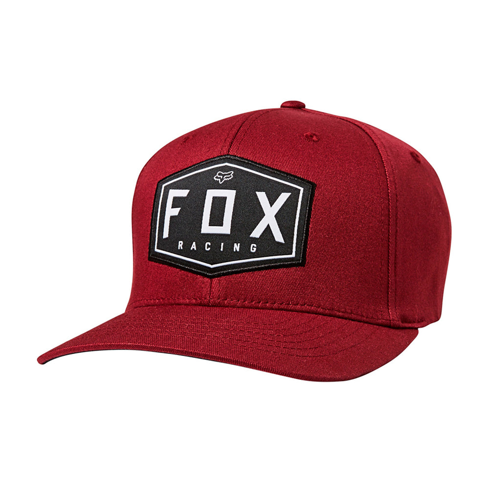 Fox 26045-527 Crest Flexfit Cranberry Maroon Burgundy Rød