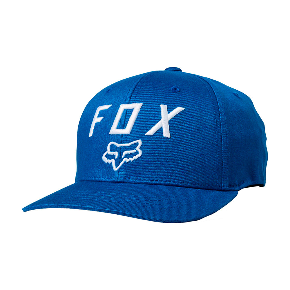 Fox 20762-159 Legacy Moth 110 Snapback Royal Blue White Blå Hvid