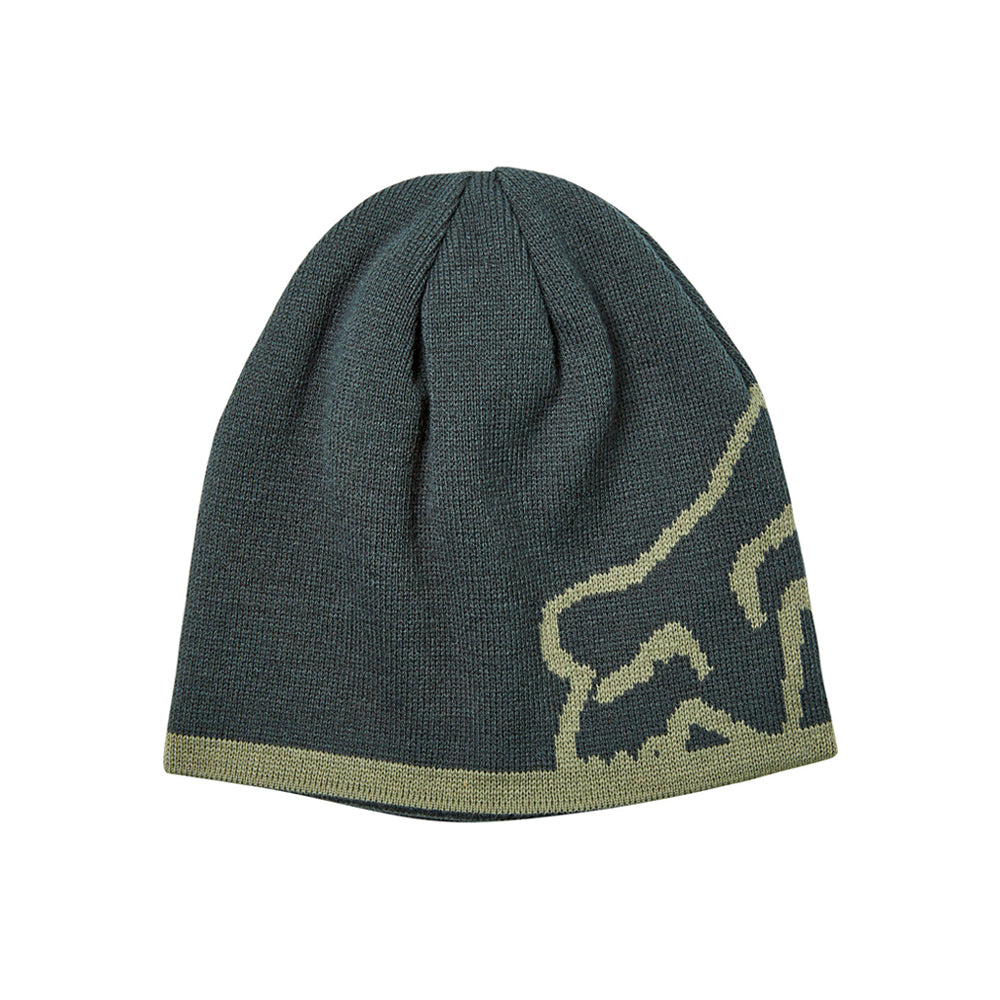 Fox 20790-294 Streamliner Beanie Emerald Green Olive Grøn Reversible knit beanie Vendbar Strikhue