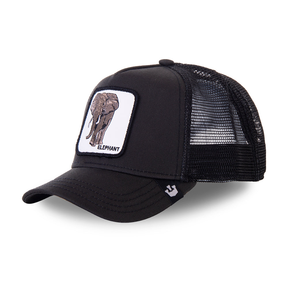 Goorin Bros Big Heart Trucker Snapback Black Sort
