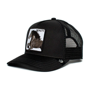 Goorin Bros Black Beauty Trucker Snapback Black Sort