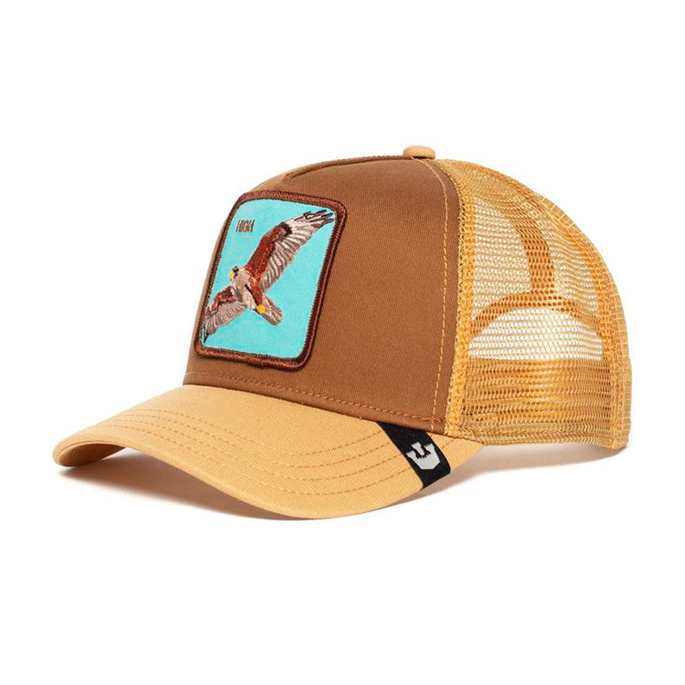 Goorin Bros High in The Sky Trucker Snapback Brown Brun