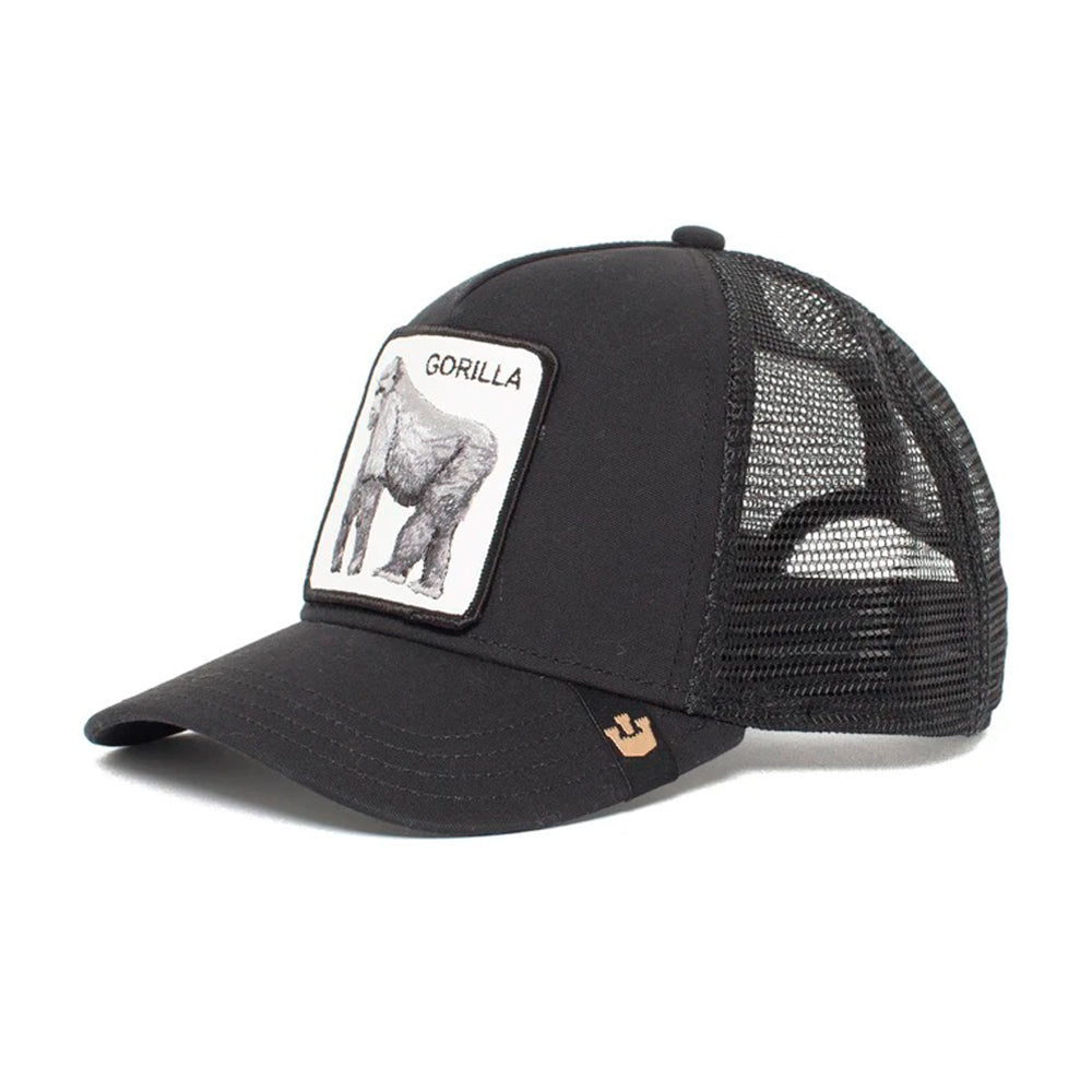 Goorin Bros King of the Jungle Trucker Snapback Black Sort