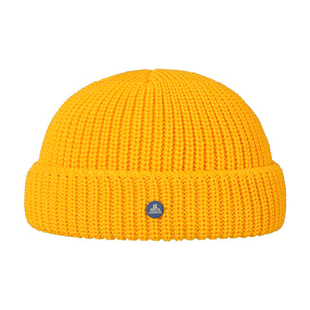 Hammaburg Docker Knit Fold Hue Yellow Gul
