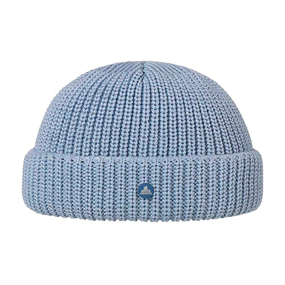 Hammaburg Docker Knit Fold Hue Light Blue Blå