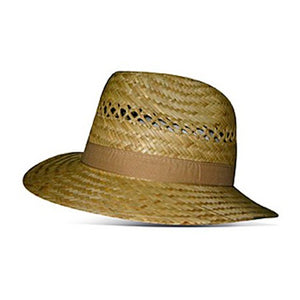 Headzone Straw Hat Fedora Hat 2843 Natural