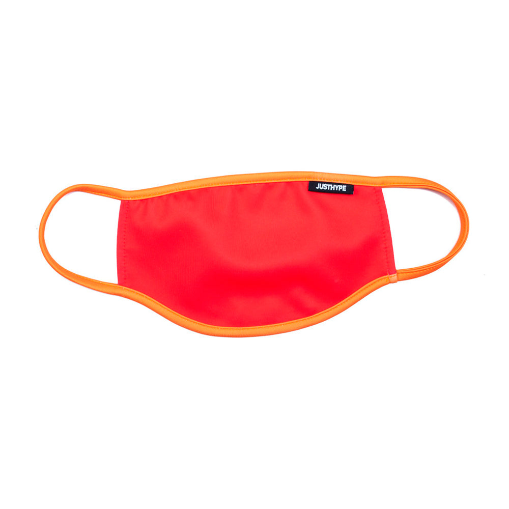 Hype Adult Red Orange Face Mask Red Orange Rød SAFE0103
